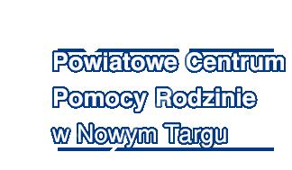 Powiatowe Centrum Pomocy Rodzinie w Nowym Targu - Logo